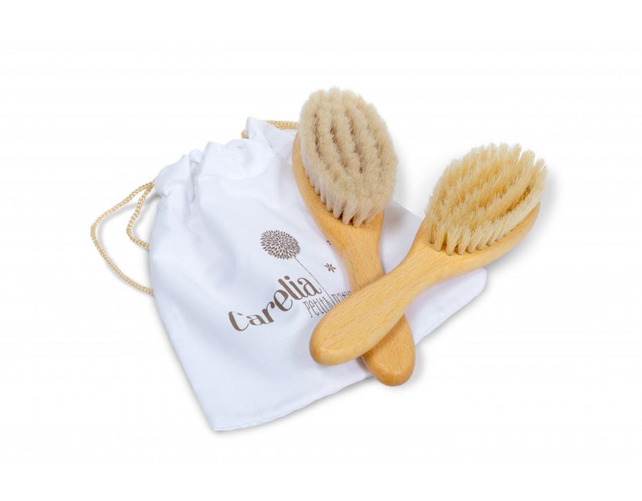 Cepillo natural bebe + niños